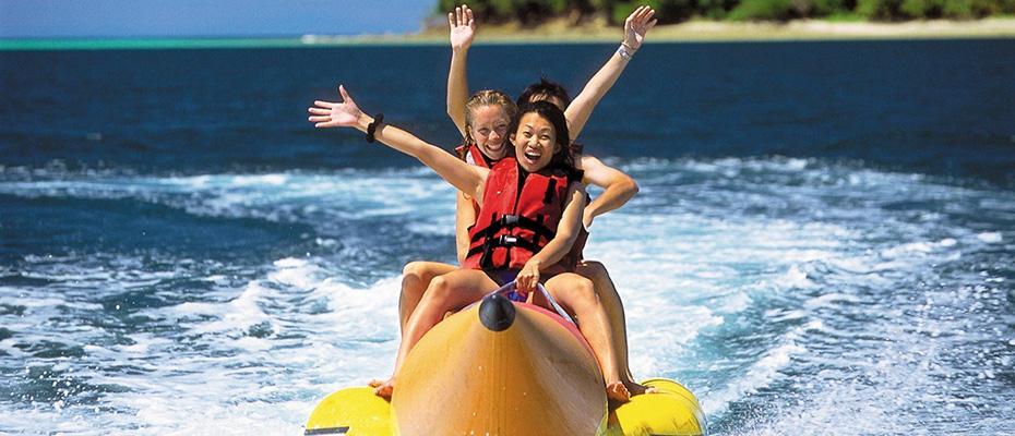 泰國芭堤雅格蘭島水上活動香蕉船