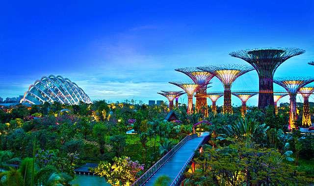 新加坡濱海灣花園門票,新加坡濱海灣花園開放時間,新加坡濱海灣花園交通