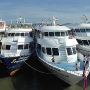 布吉島到皮皮島北部藍通碼頭船票(電子票)