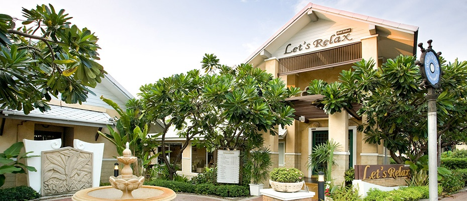 芭堤雅lets Relax Spa按摩水療套餐,芭堤雅spa推介,芭堤雅spa推薦,芭堤雅spa會館