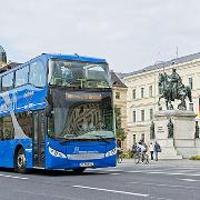 德國慕尼黑雙層觀光巴士車票(大環線)