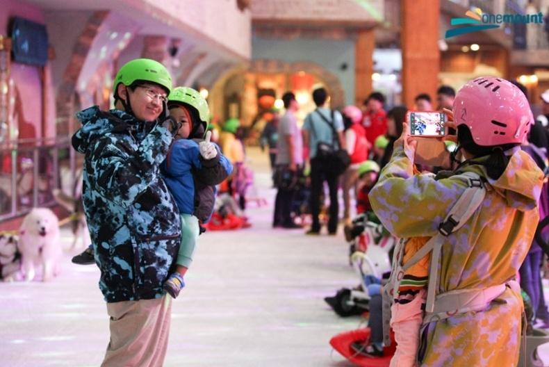韓國高陽一山ONEMOUNT冰雪樂園門票,一山onemount滑雪場門票,onemount優惠冰雪樂園門票