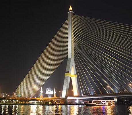 泰國曼谷悅榕莊遊船Apsara River Cruise,曼谷悅榕莊遊船,曼谷湄南河悅榕莊遊船