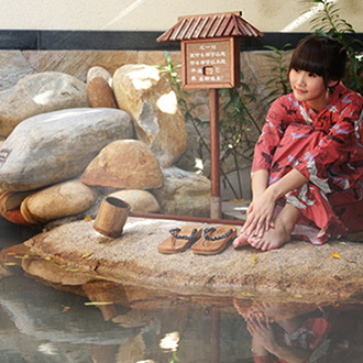 珠海御溫泉酒店2天1晚套票(酒店+無限次溫泉+廟會自助晚餐+早餐+單車券)
