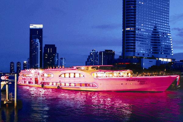 湄南河遊船哪個好 湄南河遊船地址 曼谷遊船晚餐推薦 曼谷船上自助餐價錢 曼谷船上晚餐2019價錢