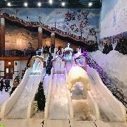 韓國Onemount室內冰雪世界+最長斜坡滑車一天團