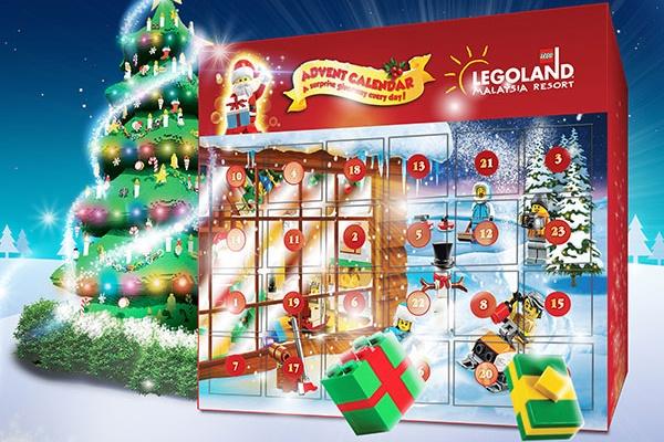 馬來西亞樂高樂園聖誕節-起點站特區娛樂時間