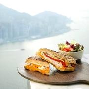 香港天際Café 100美饌套票(輕食+飲品+入場門票)