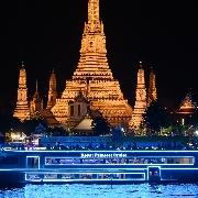 曼谷皇家公主號自助晚餐+夜遊湄南河(Royal Princess Cruise)