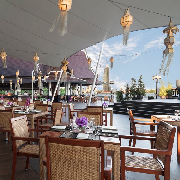 曼谷Anantara酒店Riverside Terrace海鮮燒烤自助晚餐