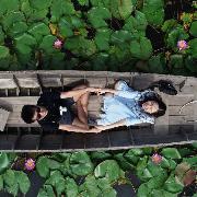 曼谷-佛統紅蓮花水上市場+龍波本廟+大塔+夏宮一日遊